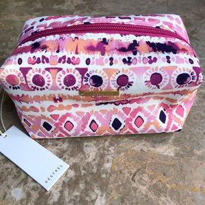 Kestrel pink/purple cosmetic pouch bag